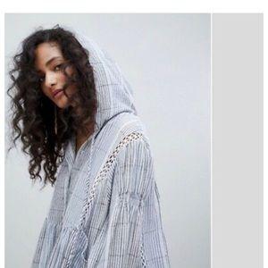 FREE PEOPLE BAJA BABE Hooded Tunic